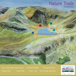 Cwm Idwal nature trail map