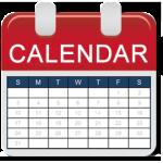 Training calendar 2020